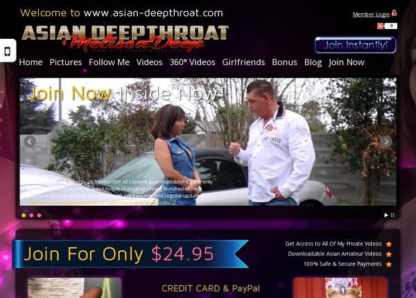 Asian-deepthroat.com Password Details