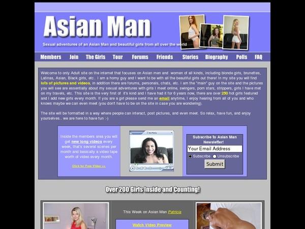 Asian-man.com Special Discount