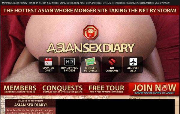 Asiansexdiary.com 支払い