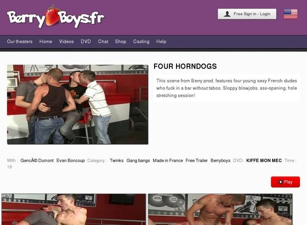 Berryboys Password Forum