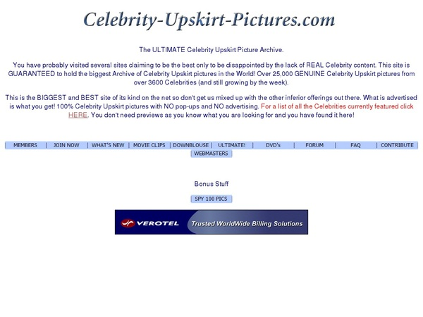 Celebrity Upskirt Pictures Account Generator