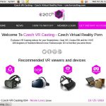 Czech VR Casting With Master Card