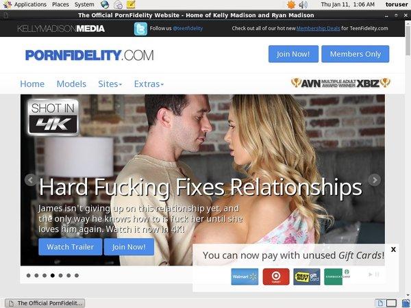 Daily Pornfidelity Accounts