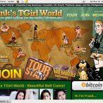 Franks T-Girl World Password Free
