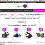 Gratis Czech VR Casting