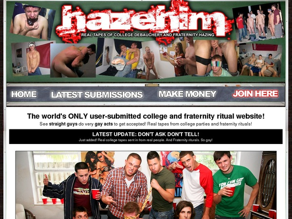 Hazehim.com Account Login
