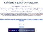 Premium Celebrity Upskirt Pictures Pass