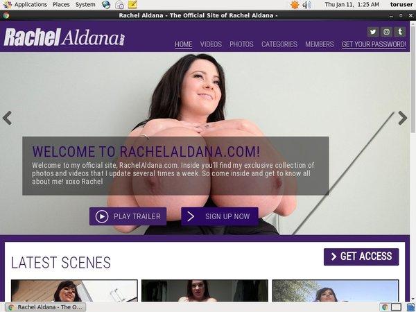 Rachel Aldana Free Scene