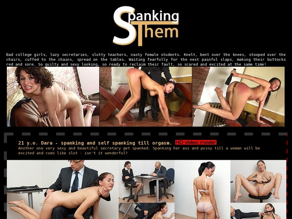Spanking Them Join With SMS