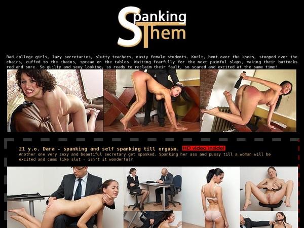 Spankingthem.com For Free