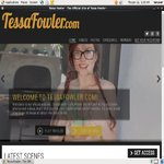 Tessa Fowler Checkout Page