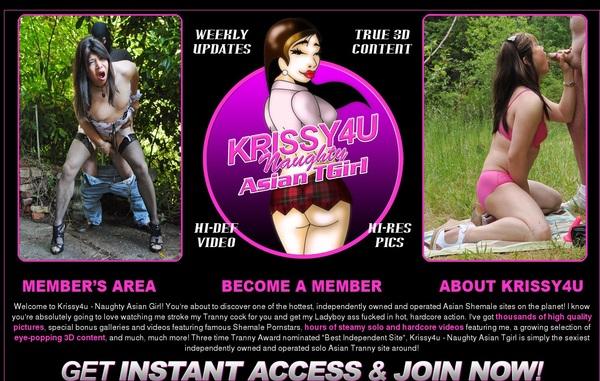 Pass For Krissy4u.com