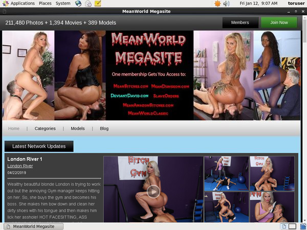 Create Meanworld.com Account