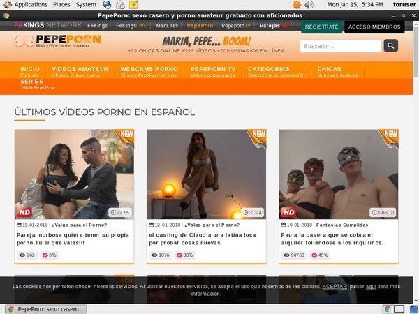 Pepeporn.com 사용자 이름