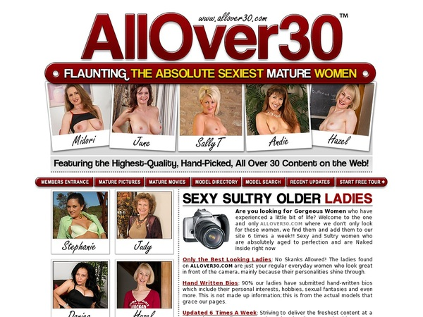 Allover30.com Free Acount