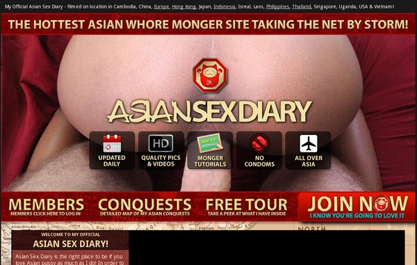 Password For Asiansexdiary.com