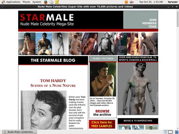 Starmale Offer Paypal