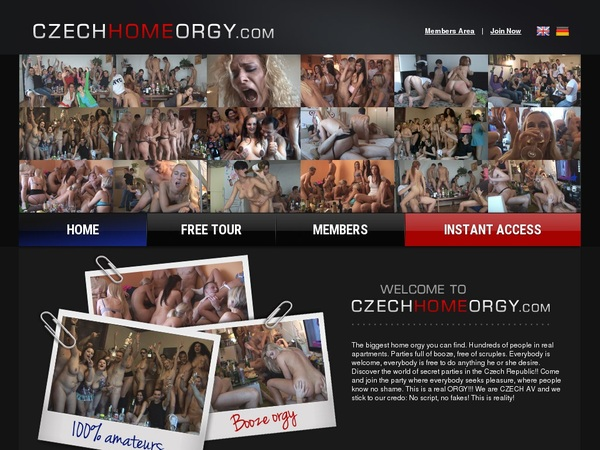 Czech Home Orgy Hacked Account